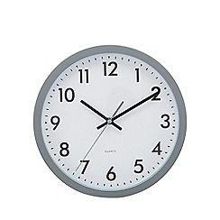 Home Collection Basics - Grey 'Tilly' wall clock
