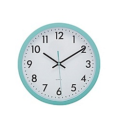 Home Collection Basics - Light blue 'Tilly' wall clock