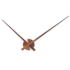 Karlsson - Little big time aluminium copper wall clock