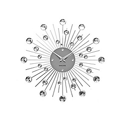 Karlsson - Sunburst crystal medium wall clock