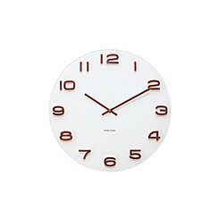 Karlsson - Vintage white wall clock