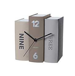 Karlsson - Book basics paper table clock
