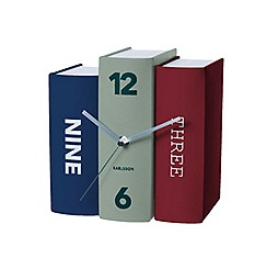 Karlsson - Book contradiction paper table clock