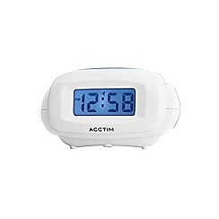 Acctim - Aura White Alarm clock