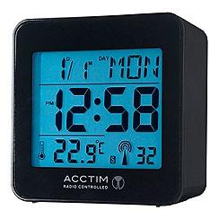 Acctim - Kale Black Alarm clock