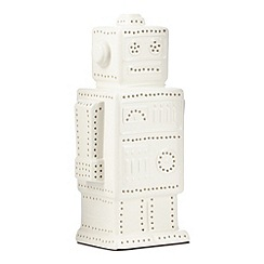 Ben de Lisi Home - Designer white robot uplighter