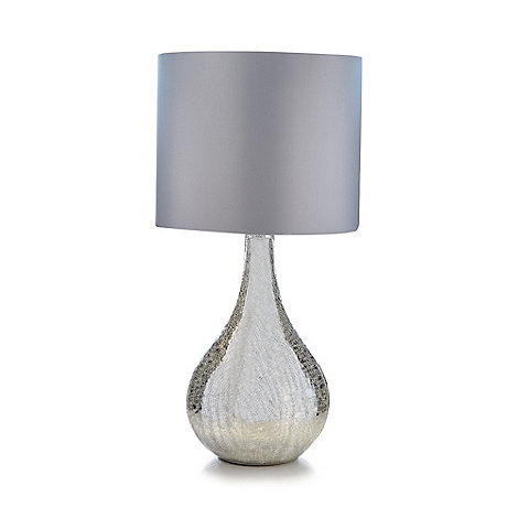 Star By Julien Macdonald Cracked Mirror Table Lamp