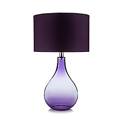 Butterfly Home by Matthew Williamson - Designer purple glass ombre lamp