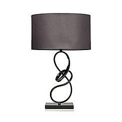 Debenhams - Metal twist lamp