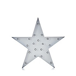 Debenhams - White led star light
