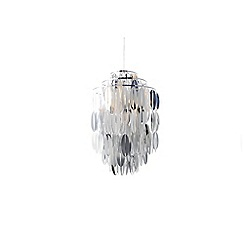 Inlight - Coffee bean pendant chrome