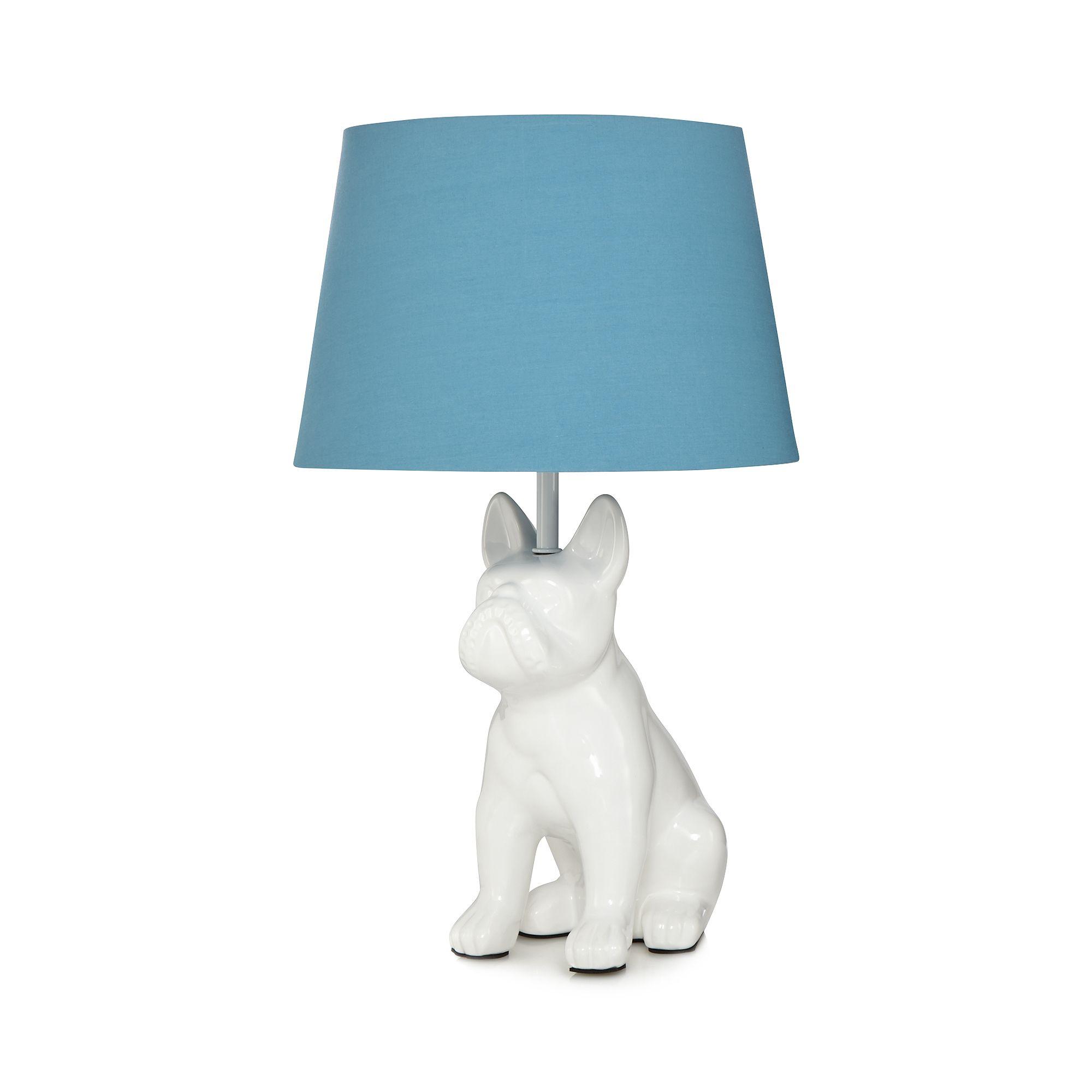 Ben De Lisi Home Blue Dog Shaped Table Lamp From Debenhams
