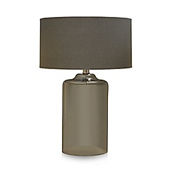 Home Collection - Grey glass table lamp