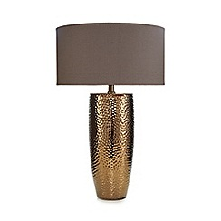 RJR.John Rocha - Light gold ceramic table lamp