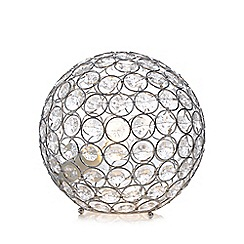 Star by Julien Macdonald - Crystal embellished ball lamp