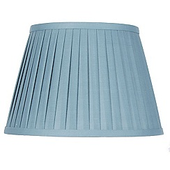 Pacific Lifestyle - 'Lyndon' 25cm knife pleated lamp shade