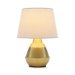 Home Collection - Gold satin table lamp