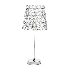 Star by Julien Macdonald - Crystal beaded table lamp
