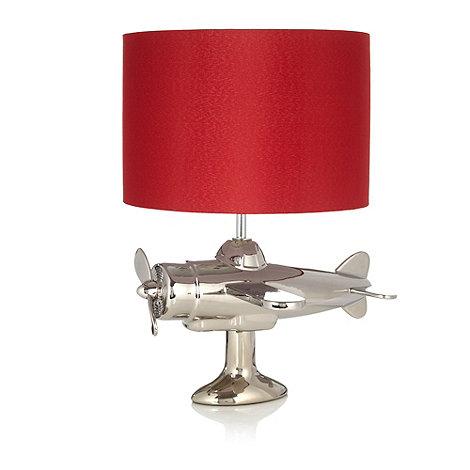 Ben de Lisi Home - Silver aeroplane lamp