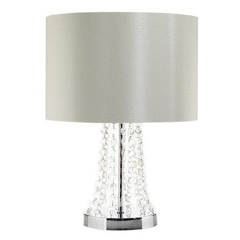 Star by Julien Macdonald - Designer cream gem string lamp