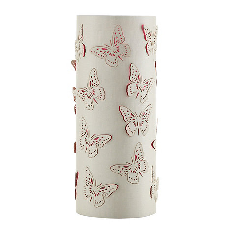Butterfly Home by Matthew Williamson - Designer white cut out butterfly table lamp