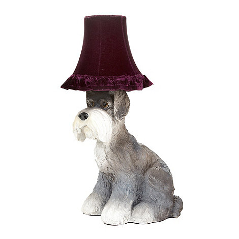 Abigail Ahern/EDITION - Designer grey dog lamp