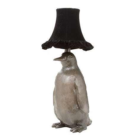 abigail-ahern-edition - Designer metallic penguin lamp