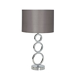 Debenhams - Metal circle lamp