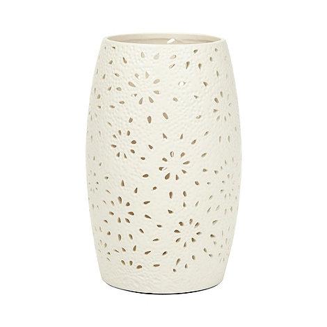 RJR.John Rocha - Designer small ceramic cutout petal lamp