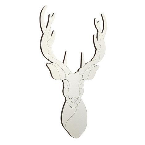 Debenhams - Silver stag mirror