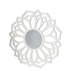 Butterfly Home by Matthew Williamson - Designer wooden cut out flower mirror