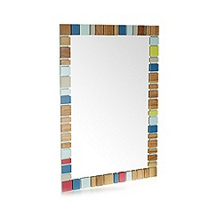 Ben de Lisi Home - Designer Colour Blocks Mirror