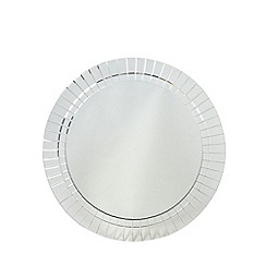 Star by Julien MacDonald - Designer glass tiled round mirror