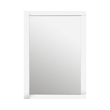 Debenhams silver art deco long mirror debenhams for Silver long mirror