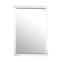 J by Jasper Conran - Designer silver block border mirror