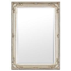 Innova - Small antique silver Maissance II mirror