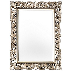 Innova - Champagne gold Firenze baroque style mirror