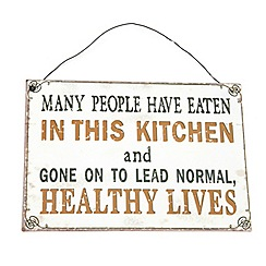 Heaven Sends - 'In the kitchen' plaque