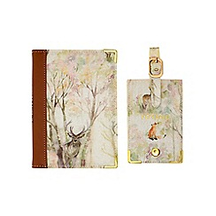 Voyage - 'Enchanted Forest' passport cover and luggage tag PP16002