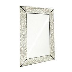 RJR.John Rocha - Designer glass vintage-style bordered mirror