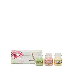 Yankee Candle - Pack of three small candles in a gift box