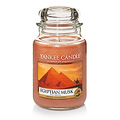 Yankee Candle - Classic 'Egyptian Musk' large jar candle