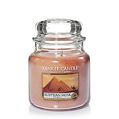 Yankee Candle - Classic 'Egyptian Musk' medium jar candle