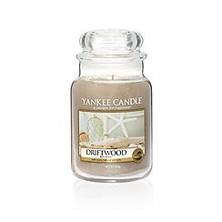 Yankee Candle - Classic 'Driftwood' large jar candle