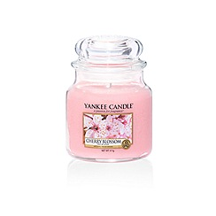 Yankee Candle - Classic 'Cherry Blossom' medium jar candle