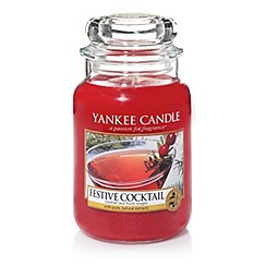 Yankee Candle - Large 'Festive Cocktail' scented jar candle