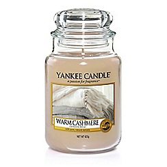 Yankee Candle - Warm cashmere large jar scented candle