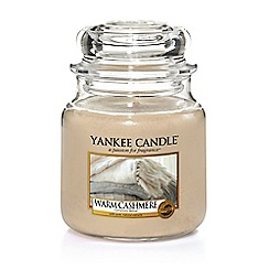 Yankee Candle - Warm cashmere medium jar scented candle