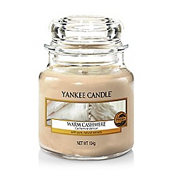 Yankee Candle - Warm cashmere small jar scented candle