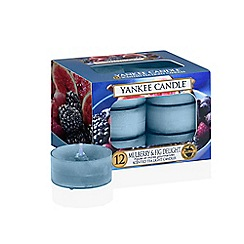 Yankee Candle - Mulberry and fig delight tealight scented candles